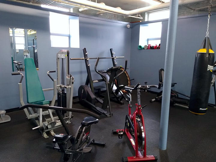 Lincoln Community Center Weight & Fitness Room